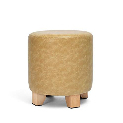 Tabouret pour enfants en bois (Couleur : C, taille : 29 × 29 × 30 cm)