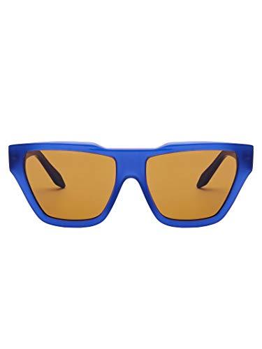Victoria Beckham Luxury Fashion Damen VBS145C04DARKNAVY Blau Acetat Brille | Jahreszeit Permanent