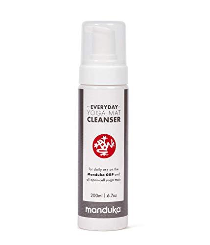 Manduka - Limpiador diario de yoga GRP y todas las esteras de yoga de células abiertas – 200 ml de líquido de lavado para esteras de yoga caliente