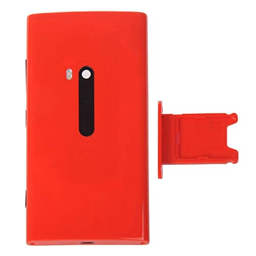 Lin-L Vassoio di Carta di Back Cover + SIM for Nokia Lumia 920 (Red) Coperchio Posteriore Batteria (Color : Red)