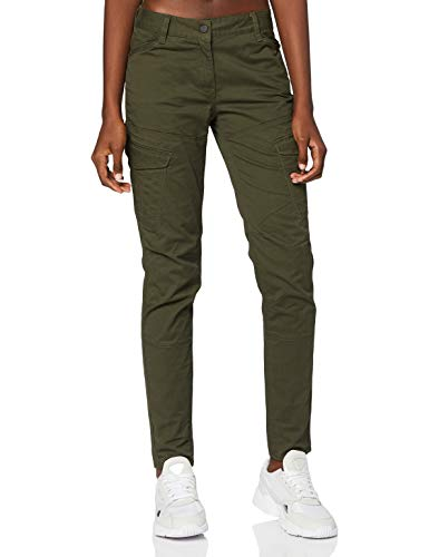 G-STAR RAW Damen Jeans Rovic Mid Waist Skinny, Grün (Forest Night 5126-5163), 27W / 30L