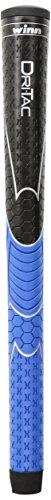 powerful Winn DriTac Midsize Grip (+1/16), Black / Blue