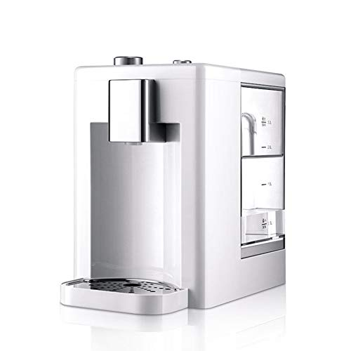 Instant Water Purifier Desktop Verwarming Filter Kettle Desktop Huishoudelijke Water Dispenser Dormitory met Net Kettle, om lood en andere zware metalen te verminderen #3 Kleur: wit
