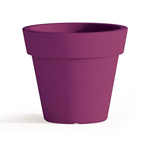 Gomme Violet - Ø 50 cm - H 44 cm.