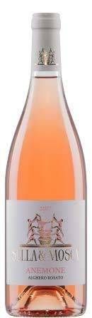 3 x 0.75 l - Anemone. Alghero Rosato Doc, Vino rosato sardo.prodotto dalla grande cantina Sella & Mosca