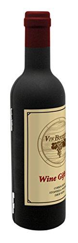 Vinbouquet Regalo de Vino FI 314 Set, Abs, Caucho y SS, Plat