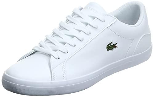 Lacoste Lerond BL 1 CAM, Zapatillas Mujer, White, 42 EU