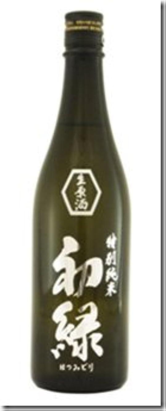 データベース代数実験をする初緑 特別 純米 無濾過生原酒 (白ラベル)1.8L