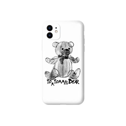 Compatibel met de Iphone 11 Case, Creative inkt schilderij Bear TPU Iphone 11 Cases Cover for Iphone 11/11 Pro / 11 Pro Max en vele andere modellen Origineel (Color : For iphone11 pro)