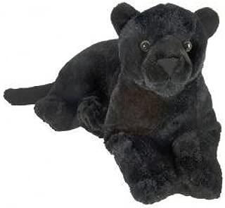Wild Republic Black Jaguar Plush, Stuffed Animal, Plush Toy, Kids Gifts, Zoo Toy, 18