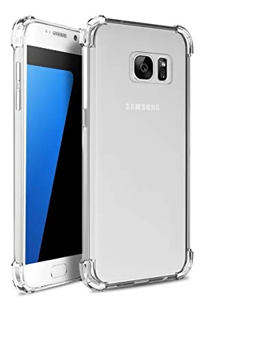 Capa Tpu Antishock Reforçada Nas Bordas Samsung Galaxy S7 FLAT G930 5.1 IN