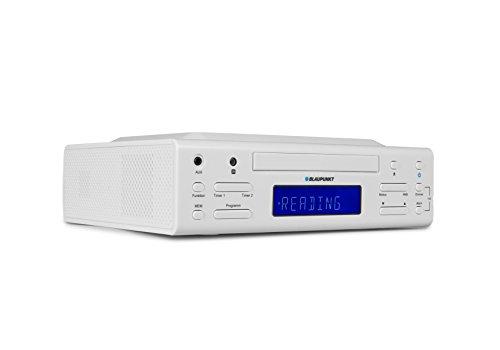 Blaupunkt KRC 30 Küchen-Unterbauradio mit UKW/FM PLL, Kurzzeit-Wecker, 25 Senderspeicher und Stereolautsprecher, LCD Display, Montagematerial inklusive