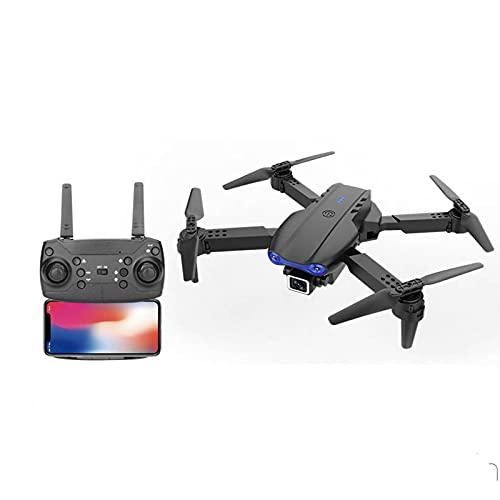 Xshuai RTEKlappdrohne 4K Dual-Kamera Hd-Antennenfernbedienungsflugzeug 15 Minuten HöHenflug 100M Fernbedienung Quadrocopter Mit Fernbedienung Drohne Mit Fernbedienung Entfernter Hubschrauber