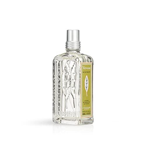 L Occitane Refreshing Verbena Eau de Toilette Enriched with Organic Verbena, 3.3 Fl Oz