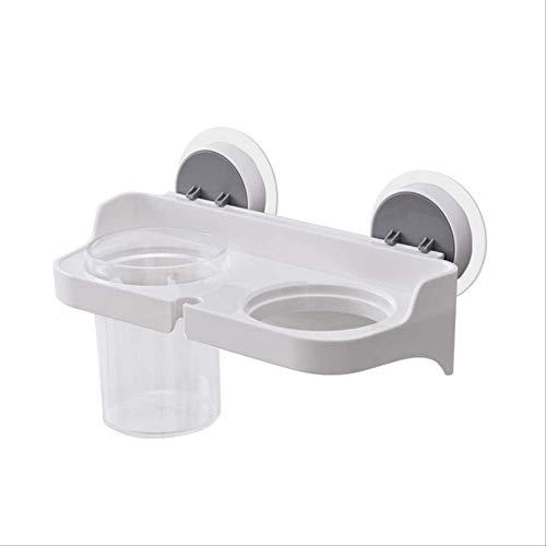 SADDPA Haardroger Houder, Muur gemonteerde Plastic Beugel, Ophangrek Voor Badkamer Slaapkamer - Wit, punch Free Kleur: wit