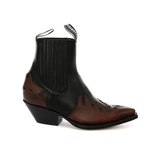 Grinders ARIZONA-BRW, Unisex Erwachsene Cowboy stiefel , - multi - Größe: 45 EU