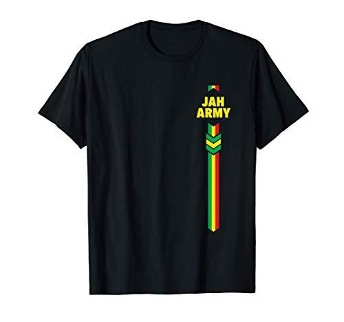 Jah Army Ras Tafari His Imperial Majesty Haile Selassie I T-Shirt
