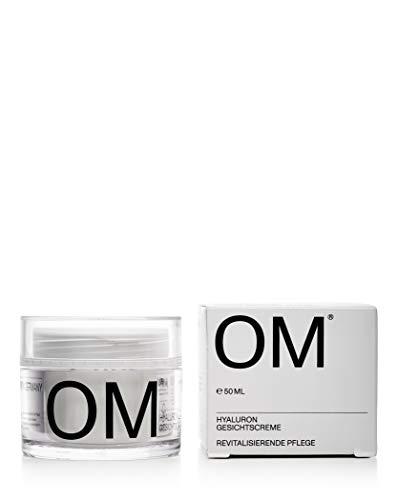 OM - Hyaluron Creme - Gesichtscreme - 50 ml - Made in Germany- ohne Parabene, Paraffine, Silikone