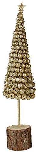 justhome, Cubi Gift nay-7028decoración, MDF + Hierro, Oro, única