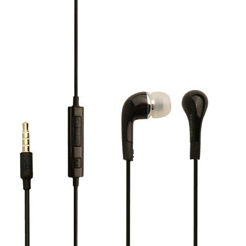 Original Samsung Galaxy S Plus i9001 Headset EHS64AVFBE schwarz Kopfhörer Ohrhörer mit Volume Kontroller + An und Aus Knopf