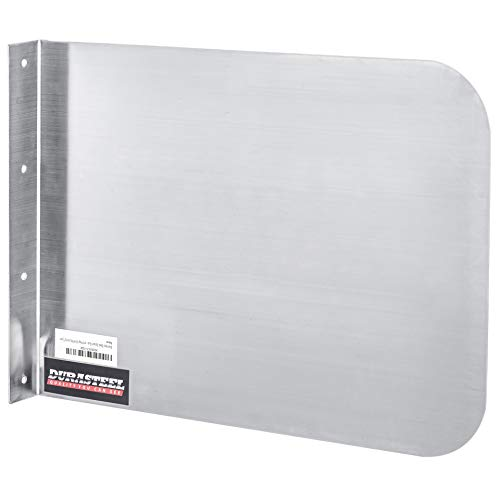 DuraSteel Stainless Steel Side Splash Guard - 17' x 12' Wall...