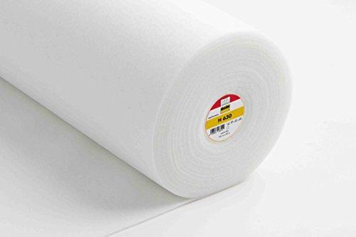 Vlieseline H630 - Fieltro para Planchado (90 cm), Color Blanco