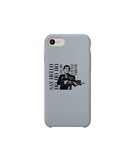 GlamourLab Scarface Hello Little Friend Gangsta Shadow_A1120 Case Cover for Compatible with iPhone 6 Protective Hard Plastic Protection