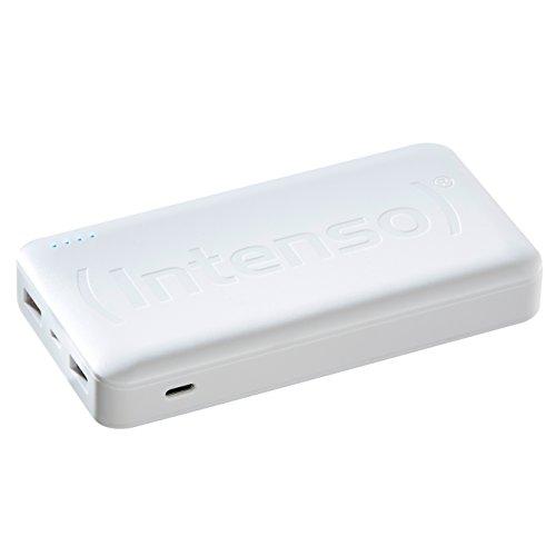 Intenso Powerbank HC15000 externes Ladegerät (15000mAh, geeignet für Smartphone/Tablet PC/Notebook/MP3 Player/Digitalkamera) weiß