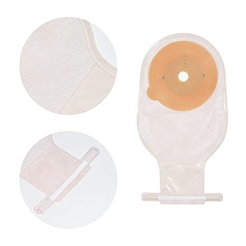 Magiin 20 bolsas desechables para estomas, bolsas de polvo, colostomía, accesorios para el cuidado del estoma Colostomy