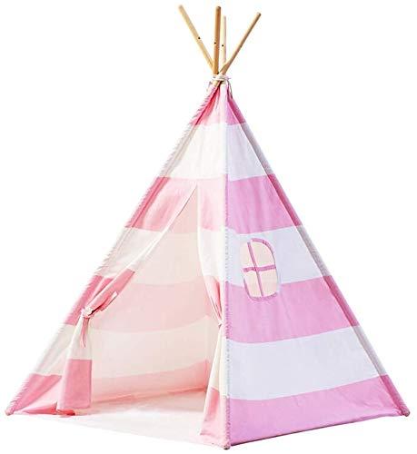 XINTONGSPP Eventzelt, Innen- und Außen Triangular Kegel Eventzelt, Konische Zelt Zelt, Indoor- und Outdoor-Picknick-Event (Tent Only), 1.4 * 1.2 * 1.2M // Rosa