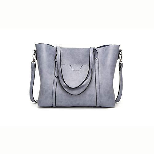 Ai-yixi Diseño Ligero y Elegante Bolso de Hombro de la Moda de la Moda de la Moda de la Cruz de Las señoras Pop Salvaje (Color : Light Blue Color, Size : 32 * 12 * 29cm)