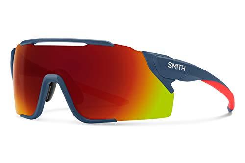 Smith Optics Attack MAG MTB ChromaPop Sunglasses, Matte Mediterranean/Chromapop Red Mirror, One Size