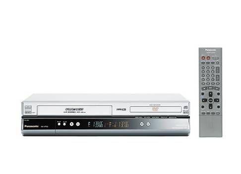 Panasonic NV VP30EC S DVD Player HiFi Videorekorder Kombination Silber