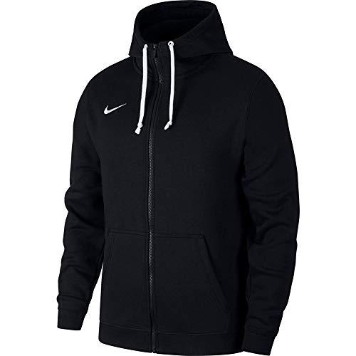 Nike Herren M Hoodie FZ FLC TM CLUB19 Sweatshirt, Black/Black/White/(White), 3XL