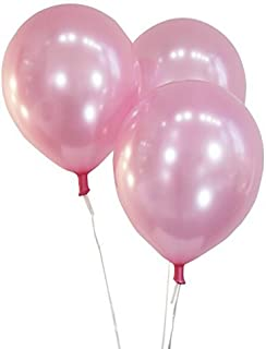 """Creative Balloons 12"""" Latex Balloons - Pack of 100 Pieces - Pearlized Light Pink"""