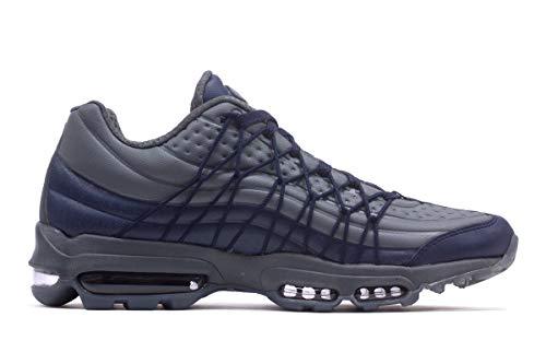 Nike Herren - Air Max 95 Ultra Se - Obsidian Dunkelgrau - AO9082-403 - Obsidian Dunkelgrau, 10 UK