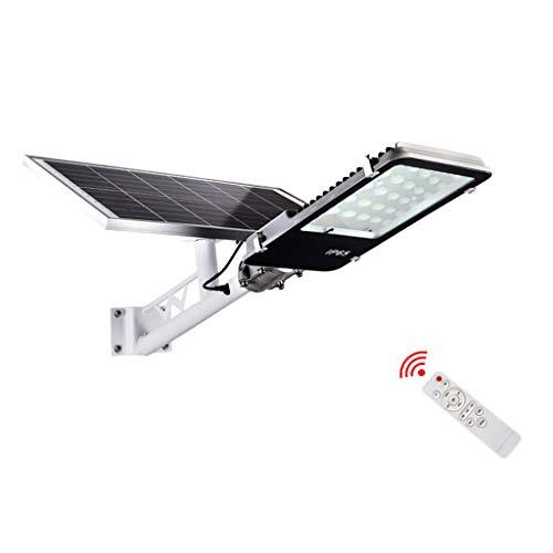 Chy Led-straatlantaarns op zonne-energie, 500 W, met afstandsbediening, waterdichte commerciële verlichting op zonne-energie voor buiten, super heldere en stabiele prestaties