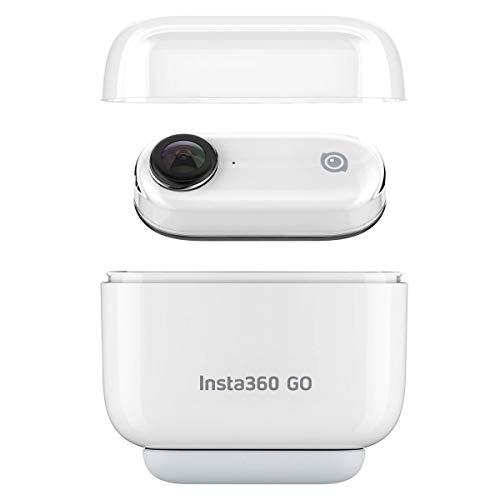 Insta360 Go 1080P vidéo Action Camera Sports Prend en Charge 720p 120 Images/Seconde au ralenti BT Connexion APP Contrôle pour Youtube Vlog Vidéo Prise de Charge Multifonction