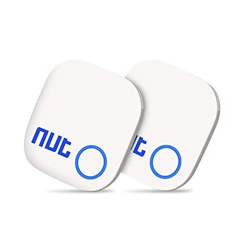 Schlüsselfinder Anti Verloren Tracker, Evershop 2 in 1 Bluetooth Keyfinder Tracker GPS Locator Bidirektionale Alarm Erinnerung für Telefon Haustiere Keychain Wallet Gepäck Rucksäcke,Smart Tag mit APP