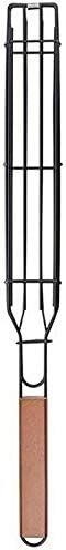 JUNNuotop Inexpensive Philadelphia Mall Grilling Basket- Folding Stainless BBQ Portable Steel