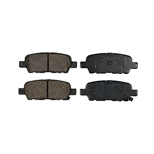 KFE KFE905-104 Ultra Quiet Advanced Premium Ceramic Brake Pad REAR Set Compatible With: Nissan Altima, Murano, Rouge, Maxima, Sentra; Infiniti EX,FX,G,JX,M,Q,QX