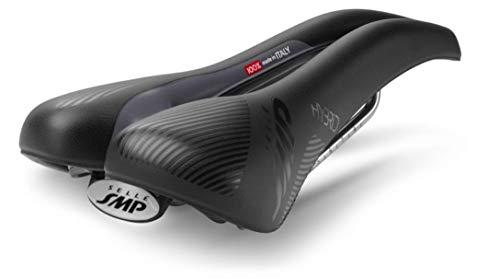 Selle SMP SMP Hybrid Nera, Sella per Bicicletta Uomo, Schwarz, 275 x 140 mm