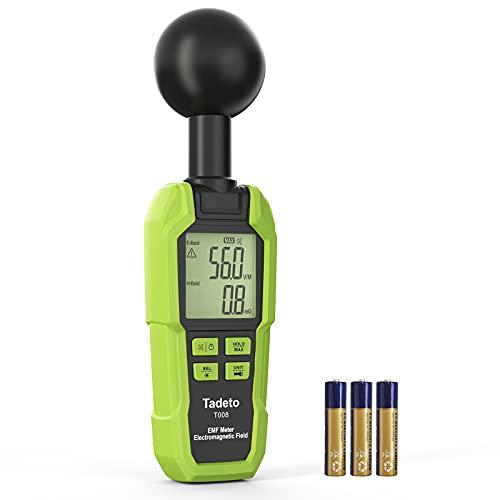 Medidor de EMF, mano electromagnética...