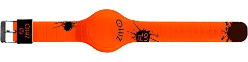 Orologio digitale FLUO ZITTO in silicone arancione FIREORANGE-MINI-GC