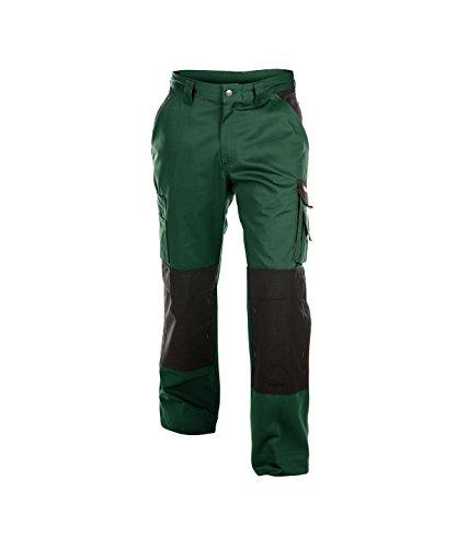 Dassy Boston werkbroek met kniezakken - groen/zwart