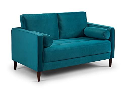 Honeypot - Harper - Sofa - 4 Seater - 3 Seater - 2 Seater - Armchair - Blue - Beige - Plush Grey - Green - Plush Velvet (2 Seater, Teal)