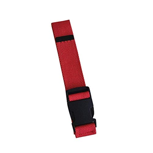 DSY Moda Regolabile Regolabile Cintura Antinfortunistica Unisex Cinture in Tela Coreano in Tela Vintage in Plastica Fibbia Elastica Colore Solido a Vita Lunga Collegamento/Rot