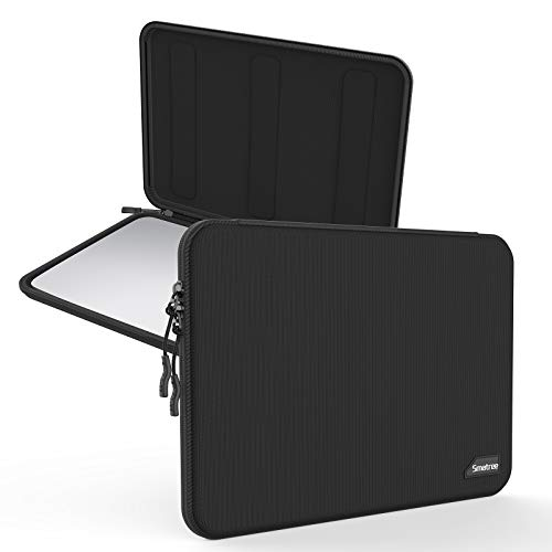 Smatree Tablet Case Hardshell EVA Laptop Sleeve Compatible with 13 inch MacBook Air 2020/ 13.3 inch MacBook Pro 2020 2019 2018/ Surface Pro 6/ Surface Pro 4 (Black)