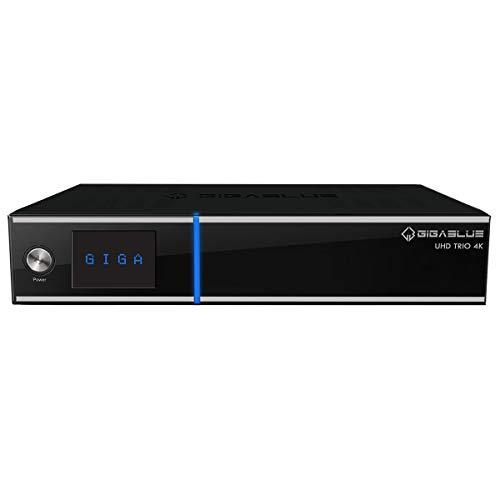 GigaBlue UHD Trio 4K 1x DVB-S2X 1XxDVB-T2/C Linux Sat IP Multiroom - Receptor híbrido