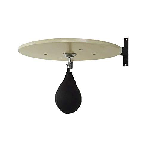 ReedG Speedball-Plattform Boxen Sport MMA Hanging Speedball-Apparat mit PU-Leder-Speed Ball Heavy Duty Einstellbare (Color : White Maple, Size : 60x60x1.8cm)